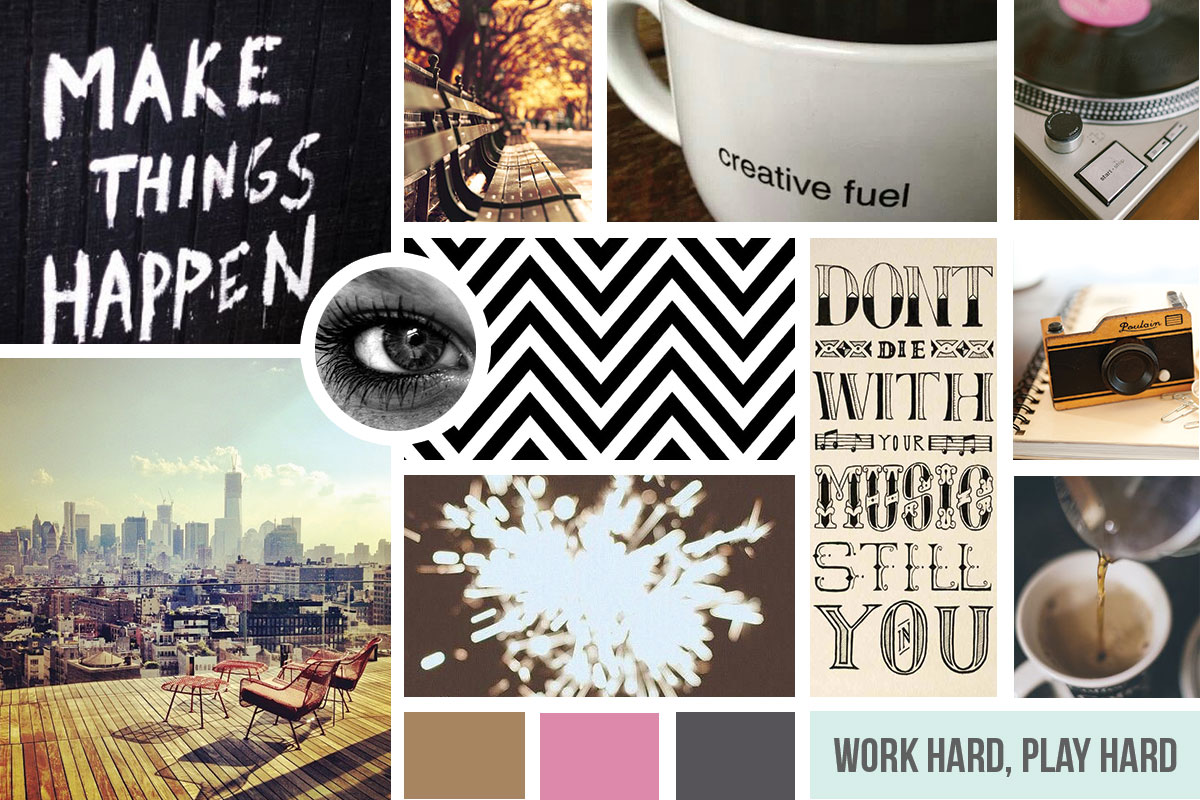 My First Mood Board | Brittany Ehlers